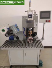 thermocompression machine for enamel litz wire and related crimp lug