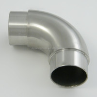 Stainless steel 304 Handrail 90 degree pipe connector