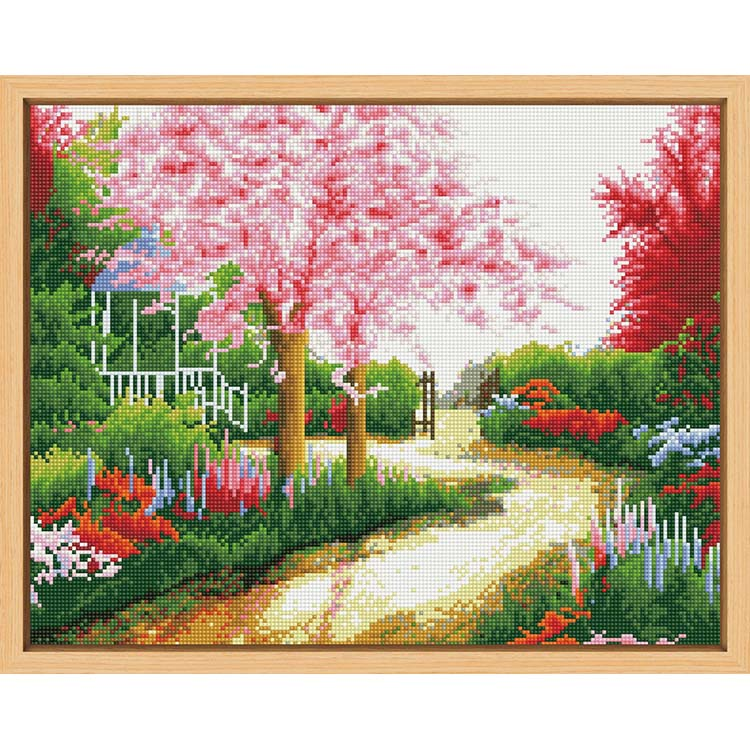 Latest arrival professional made canvas diy diamond painting landscapes diamond paintings