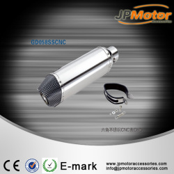accessories motorcycle ,cnc stainless steel exhaust muffler,bike silencer