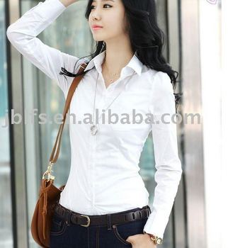 OEM most popular womens fashion business shirt