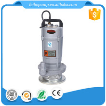 Manufacture price QDX10-15-0.75 0.75KW 1HP 2 inch centrifugal submersible water pump with copper winding