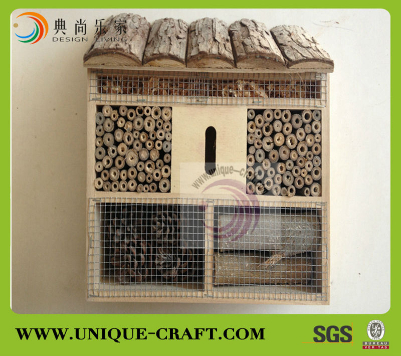 2017 wholesale high quality wooden maison insect net house