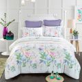 Home textile sfot printed tencel duvet cover