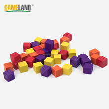Board Game Pieces Wooden Cubes Board Game