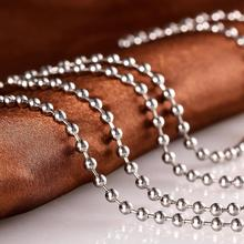 High Quality Good Rope Chain Stainless Steel Ball Chain Necklace In Roll