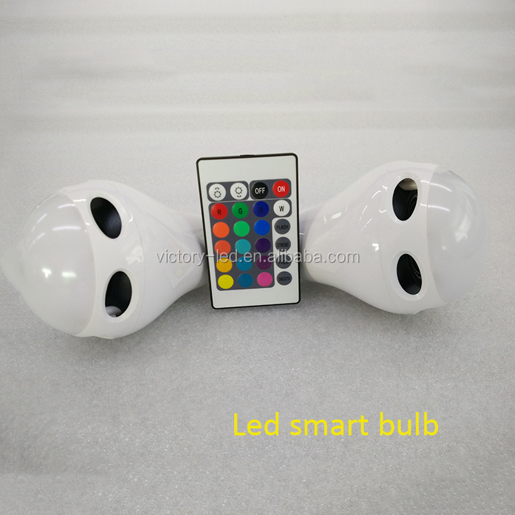 HOT Wireless Bluetooth E27 10W Smart RGB LED Light Bulb for Bar Home