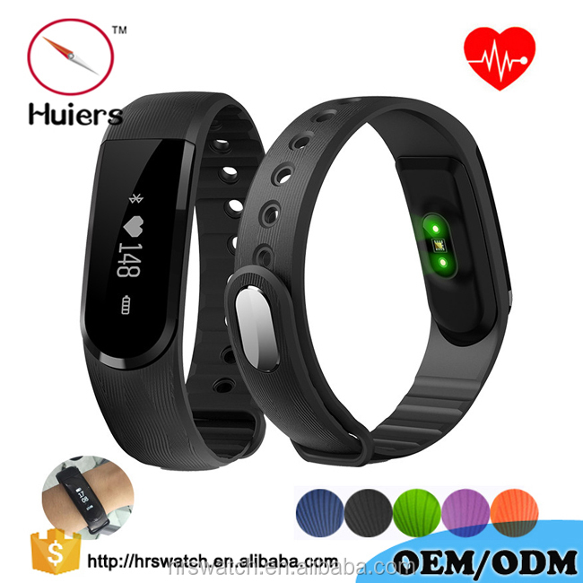 2017 new produce ID101 heart rate minitor watch for men women fitness tracker