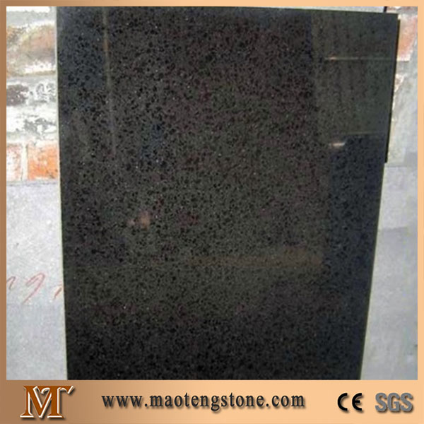 Black Pearl China Black Basalt Dark Granite G684 Stair Tile