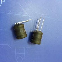 Three pin leaded drum core dip inductor