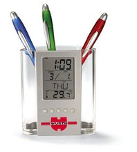 LCD Perpetual Calendar Pen Holder For Promotional Gift
