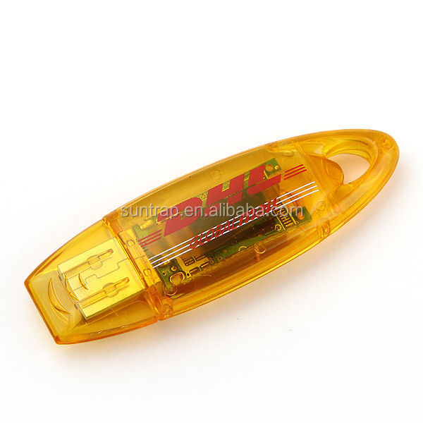 Customized and enough capacity Plastic USB Flash Drives