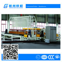 coiling wire fully-automatic construction mesh welding machine