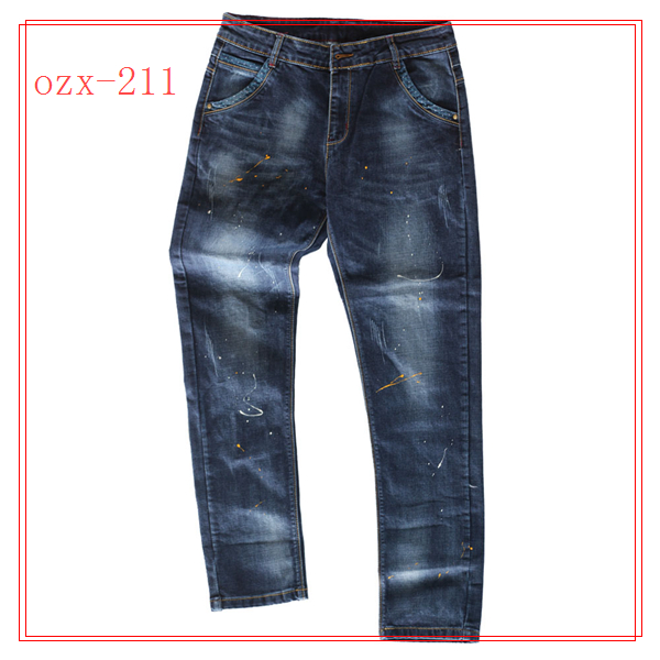wholesale designer mens high waisted jeans