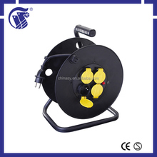 waterproof hot sale plastic mini spring cable reel