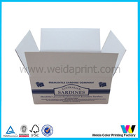 Printing carton box, small carton box, corrugated cardboard box
