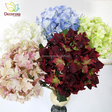 large hydrangea silk flowers holiday party favors wedding artificial flowers