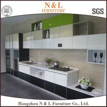 (Customized Designs) Kitchen Cabinets with flat package, from Hangzhou Furniture City