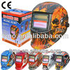 Auto Darkening Welding Helmet With Flame