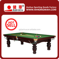 Hot sale top quality cheap American style 9ft pool table