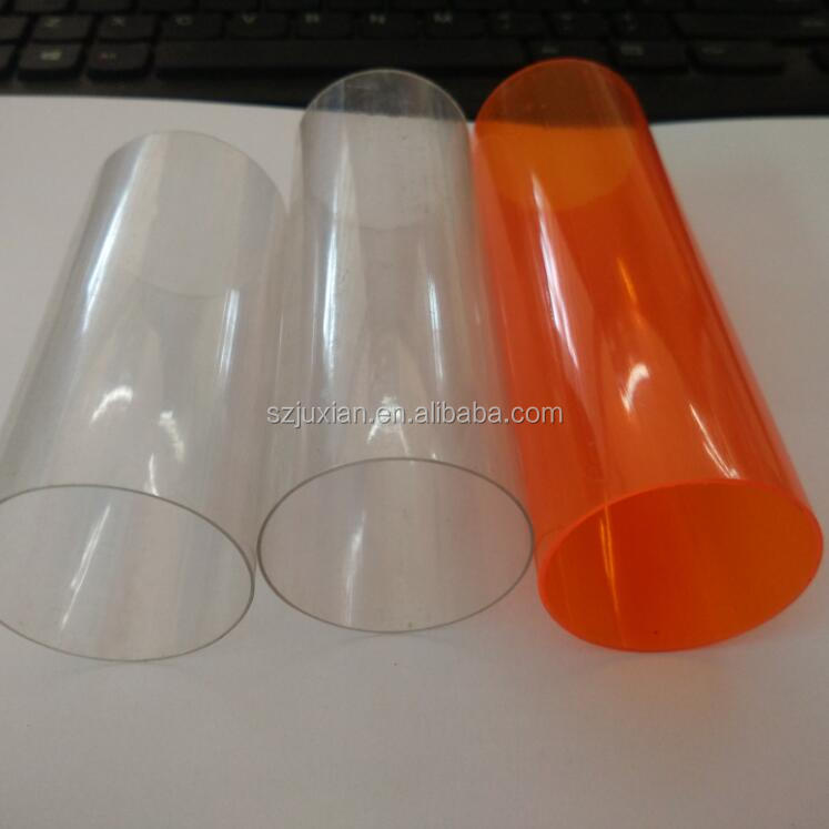PVC/PC transparent clear tube see-through plastic tube