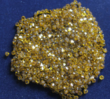 Industrial abrasive monocrystal synthetic diamond