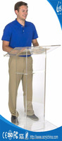 High Quality Clear Acrylic Lucite Church Podium Pulpit Lectern