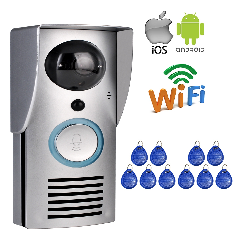 Wholesale wifi 720p camera smart video doorbell for apartments