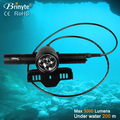 Waterproof IP68 3000Lumens Led Diving Torch Rechargeable Led Flashlight High Power