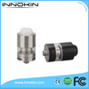 E Cigarette Tank Innokin Design Axiom Stainless Steel Tank with Pyrex Glass