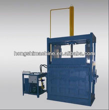 cotton wool packing machine/old cloth bundling machine/rag baler