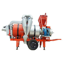 SLB10 10tph mobile hot asphalt drum mix plant