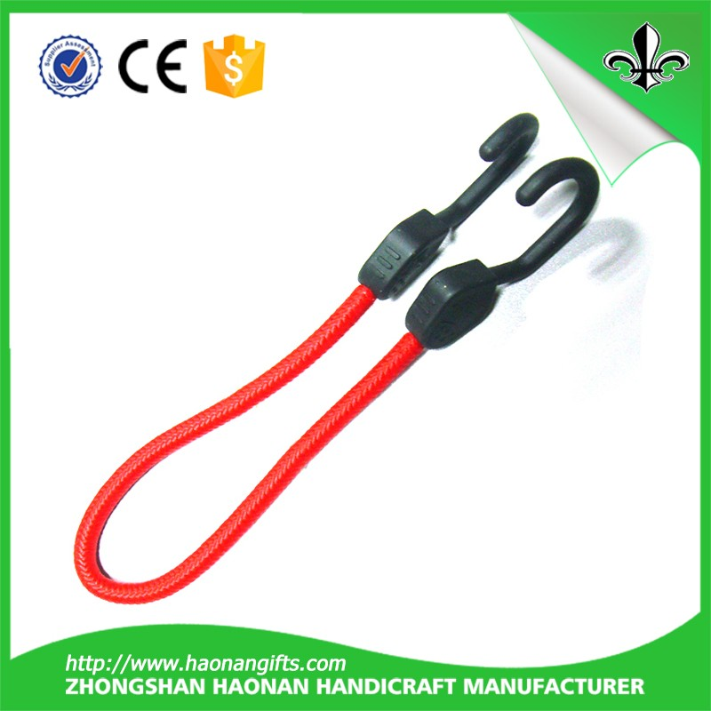 Good quality custom bungee cord With hooks, bungee jumping cord