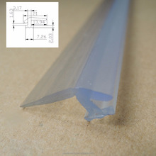 Soft-hard Co-extrusion plastic weather seal strip for shower door