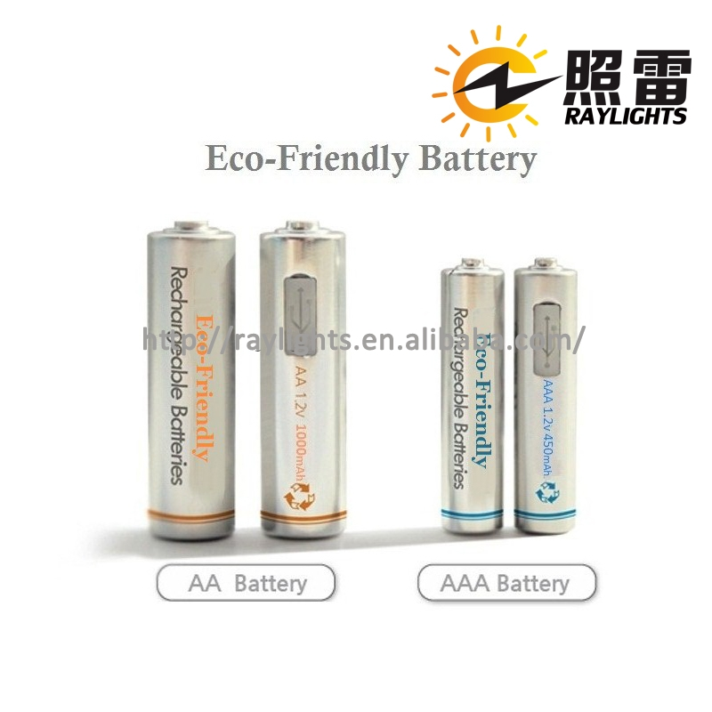 Eco-Frindly Micro USB portable battery 5v rechargeable battery new battery for wholesales