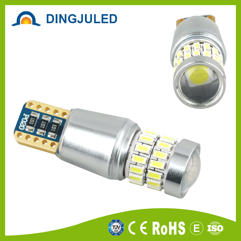 Super White <strong>Auto</strong> 3014 T10 28SMD White Light led car side light