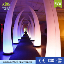 New items 2016 led decoration inflatable ivory for sale