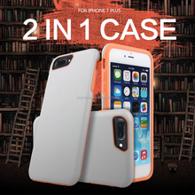 Good Shockproof Newest 2 in 1 case for iphone 8 and iphone 7 plus with the PC and TPU