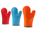 silicone BBQ gloves oven mitts