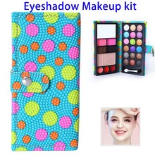 18 Colors Makeup Eyeshadow Palette Make up Set Flash Glitter with Brush