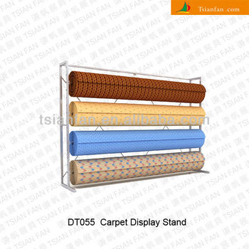 Carpet Display Roll Stand