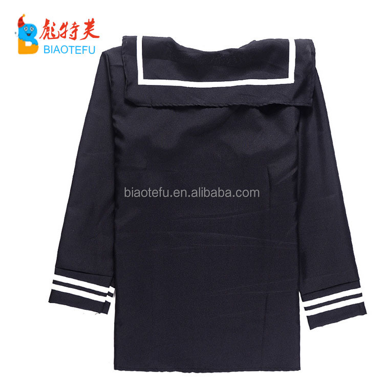 high quality carnival party adult men navy cosplay costumes uniform for adult