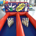Factory manufacture inflatable bowling lanes price
