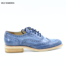 Chelsea Women casual shoes flat genuine leather shoes for woman Oxford shoes