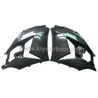 Carbon fiber side panels motorcycle fairing for Kawasaki ZX14