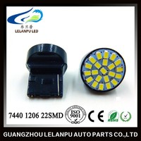 T20 1206 22SMD LED 12V 7440 New Product High Quality Led Decoration Light Reverse Light