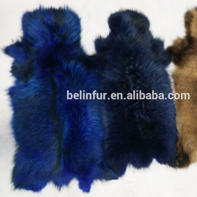 Hot Selling High Quality Natural Dyed Real Raccoon Fur
