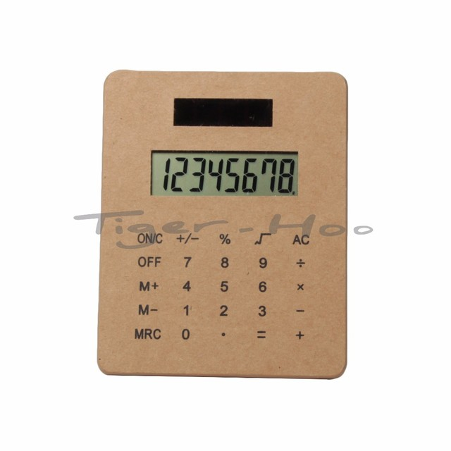 Promotional Gift Kraft 8 Digits LED Display Calculator
