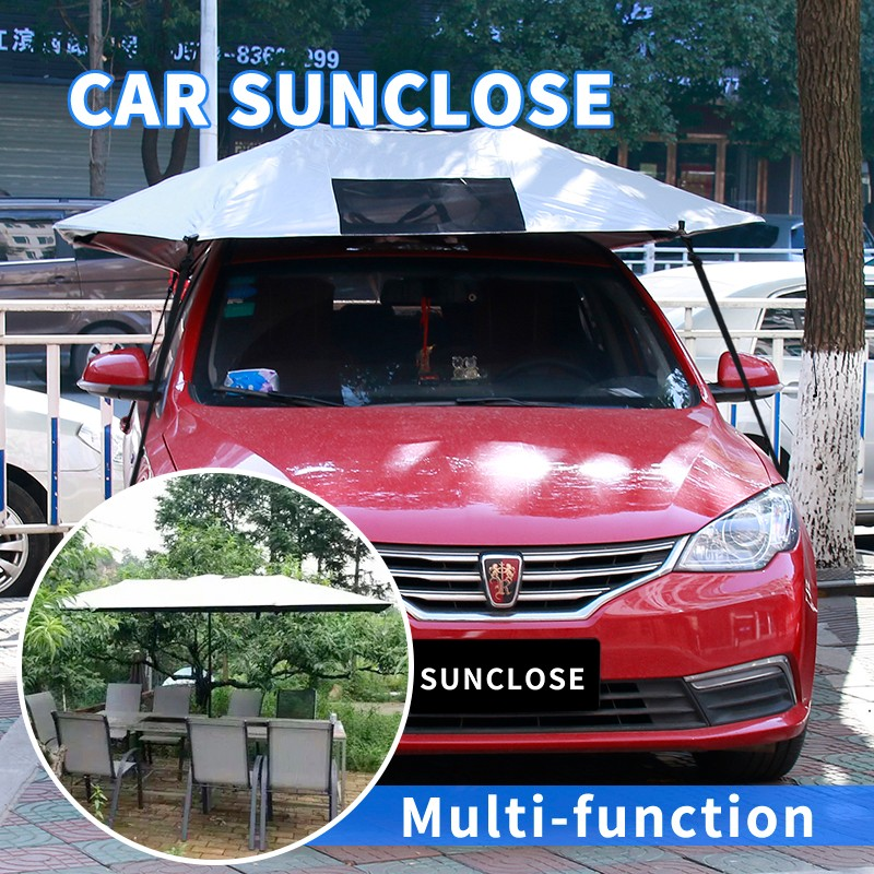 SUNCLOSE hot selling shade sail fabric plastic car wheel cover