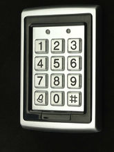 rfid access control serrure stainless steel with metal keypad